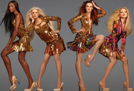 Las 'all the single ladies' de Roberto Cavalli. Campaña Primavera-Verano 2012