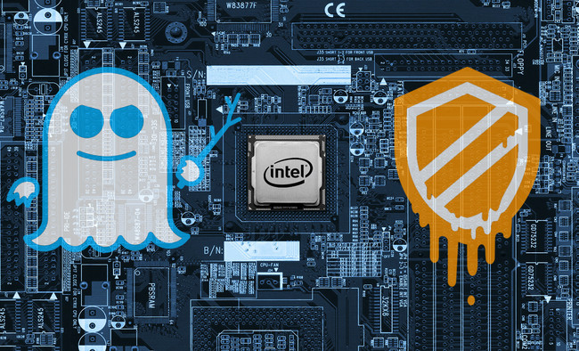 Intel Meltdown Spectre Procesadores