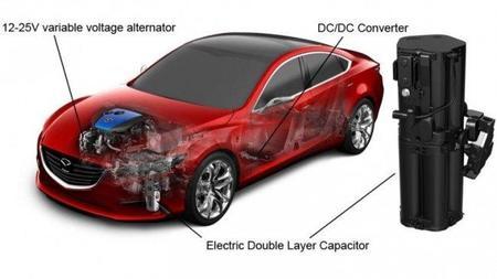 Mazda presenta su sistema de freno regenerativo para motores de combustión