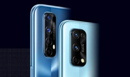 Realme 7 y Realme 7 Pro, golpe a la gama media con carga rápida de 65 W, pantalla Super AMOLED y cuádruple cámara trasera