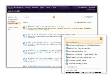 Windows Live Office ofrecerá búsqueda de documentos