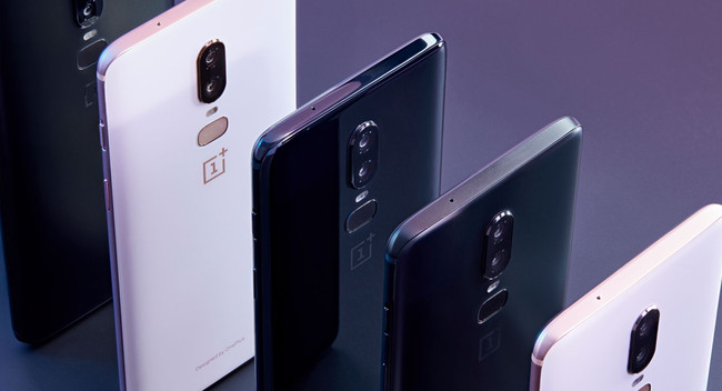 One Plus 6 Varios