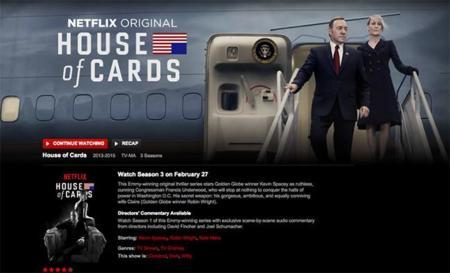 Netflix la lía parda en Internet ayudado por la fiebre 'House of Cards'