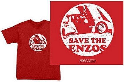 """Camiseta """"Salva a los Enzos"""""""