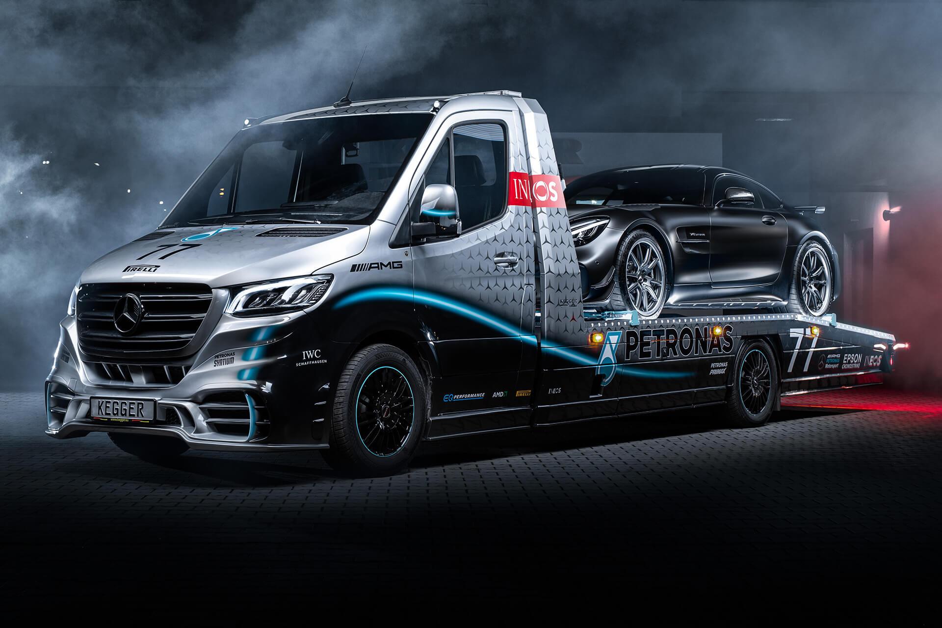 Foto de Mercedes Sprinter Petronas Edition (20/20)