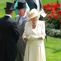 Camilla de Cornualles Ascot 2014