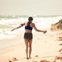 Las claves para evitar las rozaduras al correr por la playa