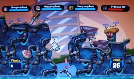 Worms 2: Armageddon - Misión 35 del desafío
