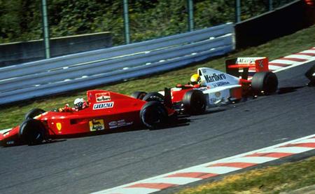 Accidente Prost Senna Suzuka 1990