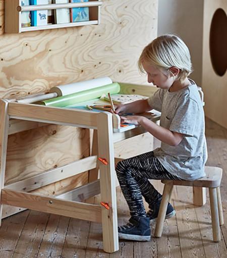 Estudio Dormitorio Infantil Ikea 1