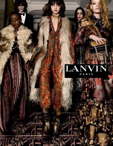 Tim Walker firma la nueva campaña de Lanvin en la que Alber Elbaz parece haber vuelto a sus raíces
