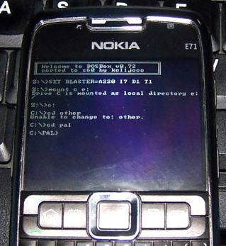 Emulador DOSBox para S60