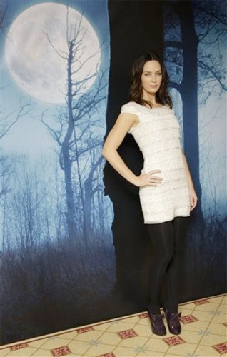 Emily Blunt en la premiere de El hombre lobo