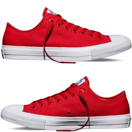 zapatillas converse rojas hombre