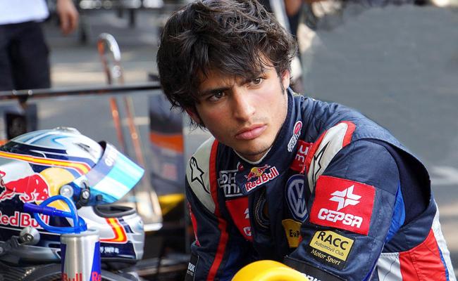 Carlos Sainz Jr 2012