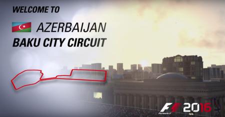Video: Así es el Circuito de Baku, el juego de la Fórmula 1 te da un adelanto