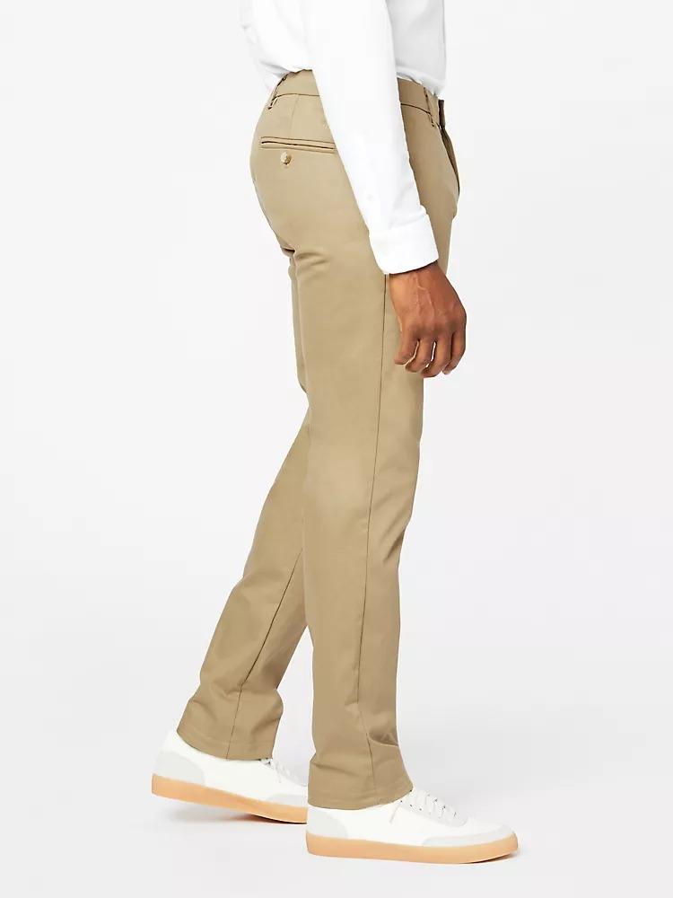 Pantalón chino Signature Athletic - Creaseless color khaki