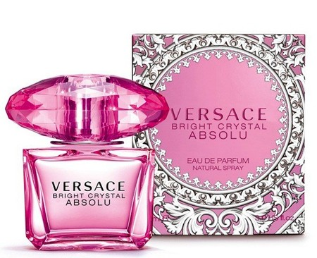 Versace Bright Crystal Absolu envase