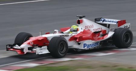 Schumacher Toyota F1 2005