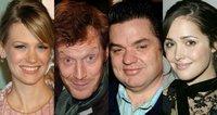 January Jones, Jason Flemyng, Oliver Platt y Rose Byrne en 'X-Men: First Class', de Matthew Vaughn