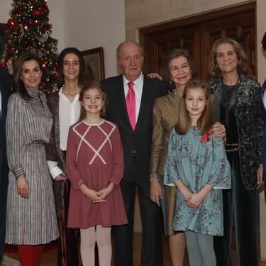 El look de Doña Letizia en el 80 cumpleaños del Rey Juan Carlos