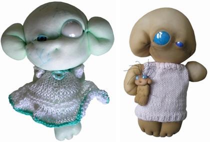 Horriblesweet: muñecos dulces, pero muy feos