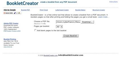 Crea tus propios folletos partiendo de tus documentos PDF