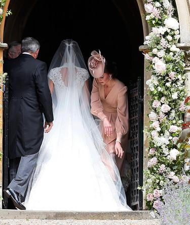 El look de Kate Middleton en la boda de su hermana Pippa