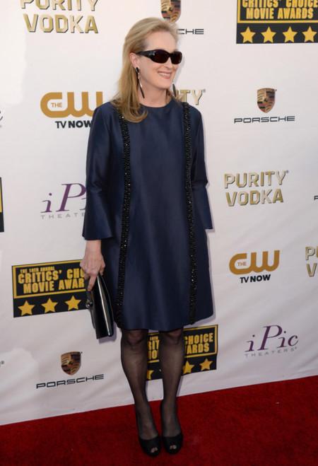 Meryl Streep Mejores Critics Choice Awards 2014
