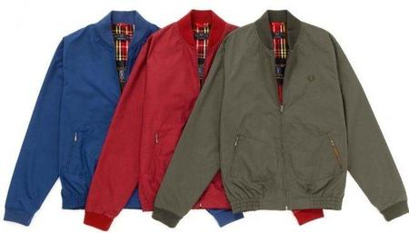 La Bomber Laurel Wreath Ventile by Fred Perry