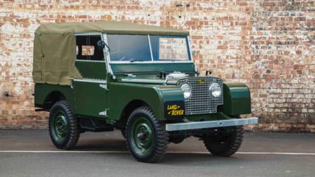 El Land Rover Serie I de 1948 resucita para convertirse en objeto de coleccionismo