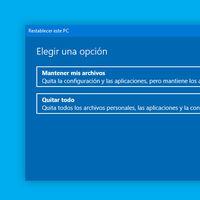 Cómo restablecer Windows 10 desde cero para dejarlo como nuevo