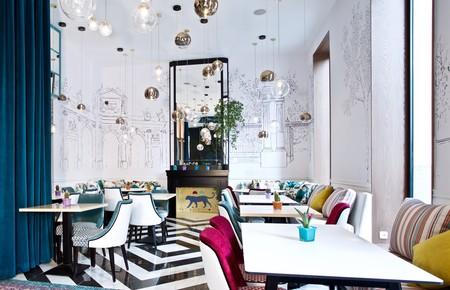 Comedor Con Chimenea 0 Restaurante Puerta De Alcala