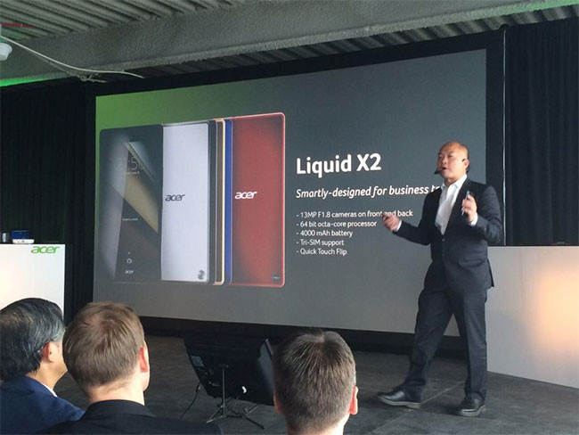 Acer Liquid X2 Press