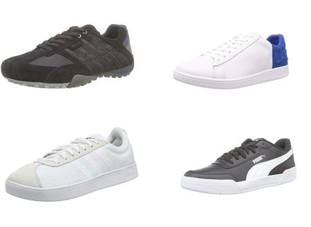 Chollos en tallas sueltas de zapatillas Lacoste, Adidas, Geox o Puma por menos de 35 euros en Amazon