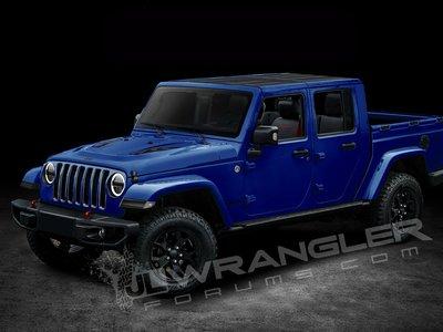 Jeep Scrambler, ese será el nombre de la variante pick-up del nuevo Wrangler