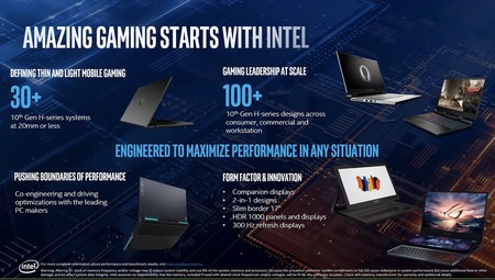 Intel 10 Gen Comet Lake H 1