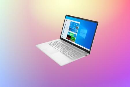 """Trabaja cómodamente con este portátil HP a precio de derribo en El Corte Inglés: con pantalla de 17"""" y 16GB de RAM a 599 euros"""