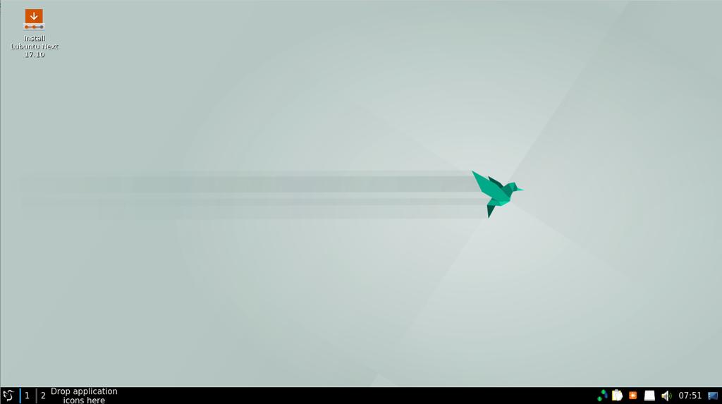 Lubuntu Next Desktop
