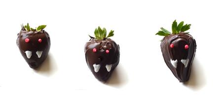 Halloween. Fresas