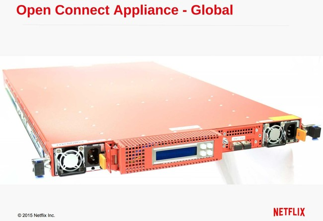 Netflix Open Connect Appliance