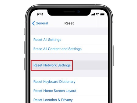 Restablecer Configuracion Red Iphone Ios