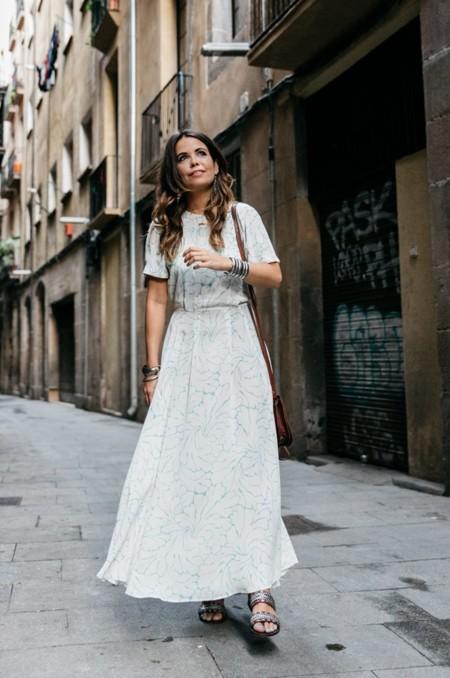 Un vestido largo
