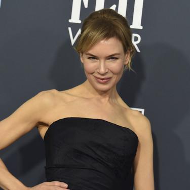 Renée Zellweger va a lo seguro y se enfunda un LBD de Dior en los Critics' Choice Awards 2020