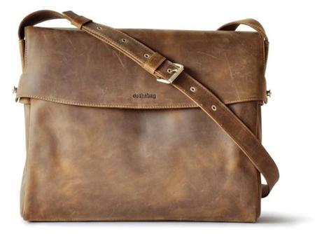 Raboisonbag, bolso bandolera de cuero natural