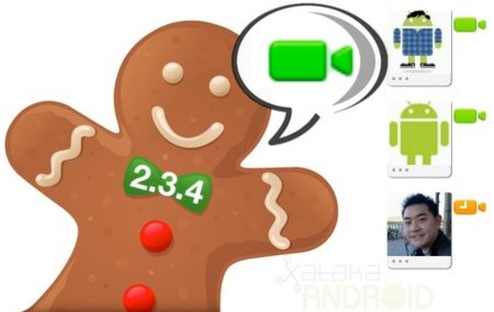 Android 2.3.4 con Google Talk Video