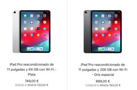 iPad Pro 2018 reacondicionado