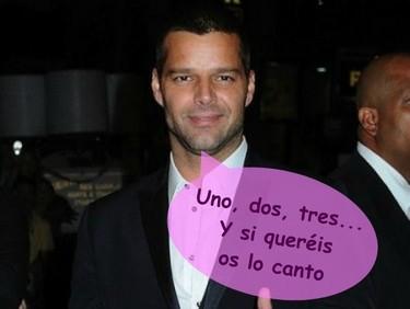 Ricky Martin enseñará a decir 'Un, dos, tres' en 'Glee'