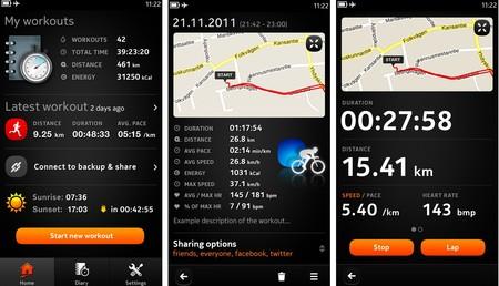 Sports Tracker N9