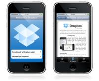 Dropbox para iPhone / iPod touch, ya disponible
